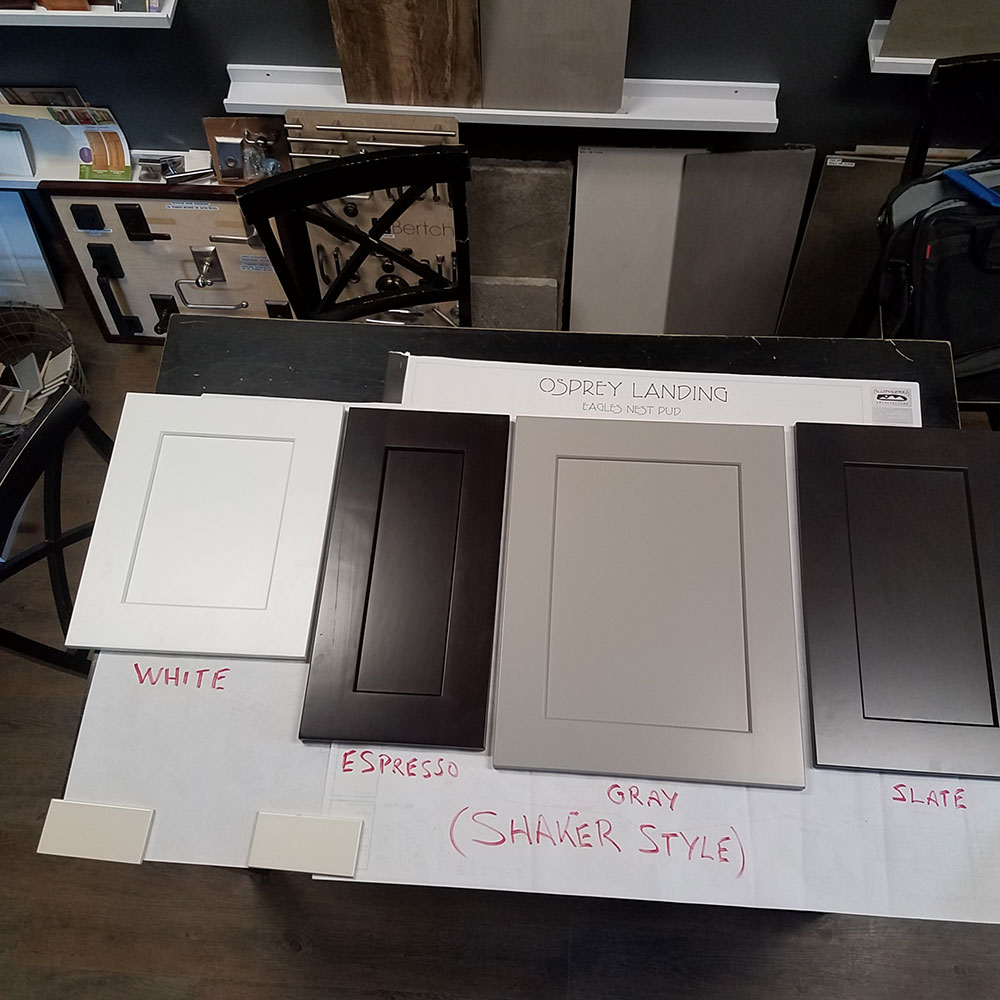 All Shaker Cabinet Colors