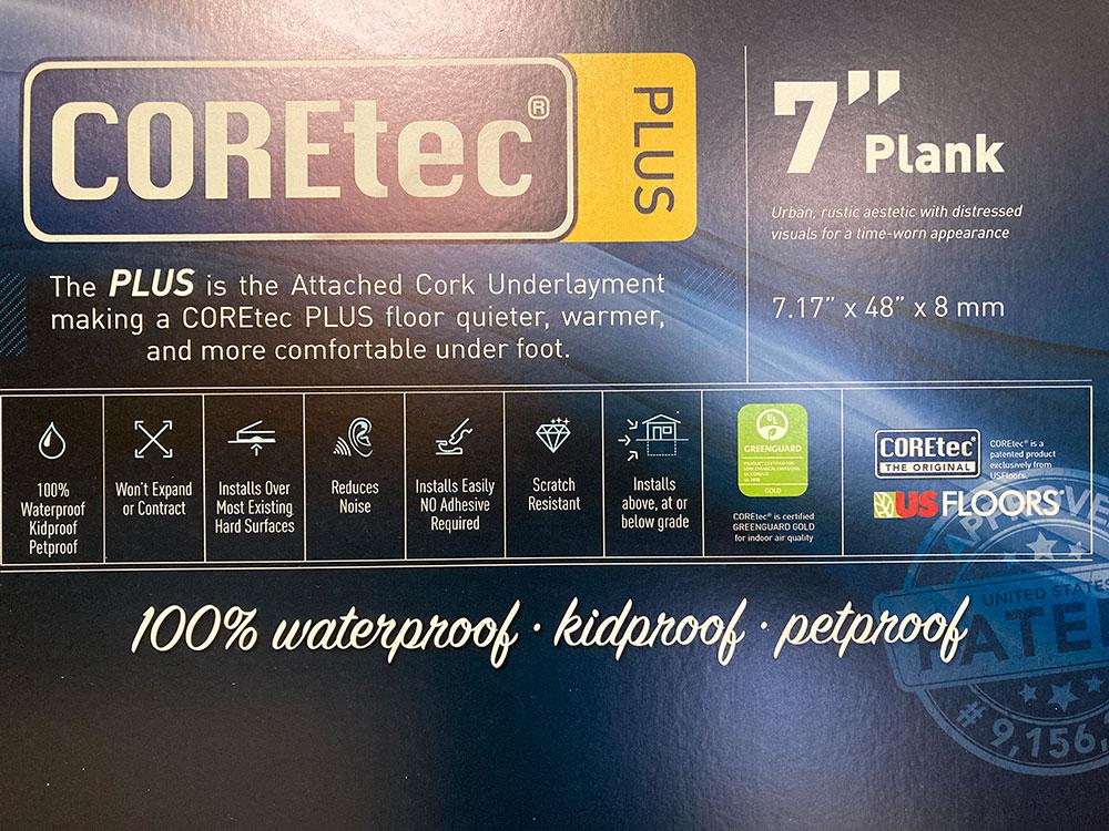 COREtec 7 Flooring