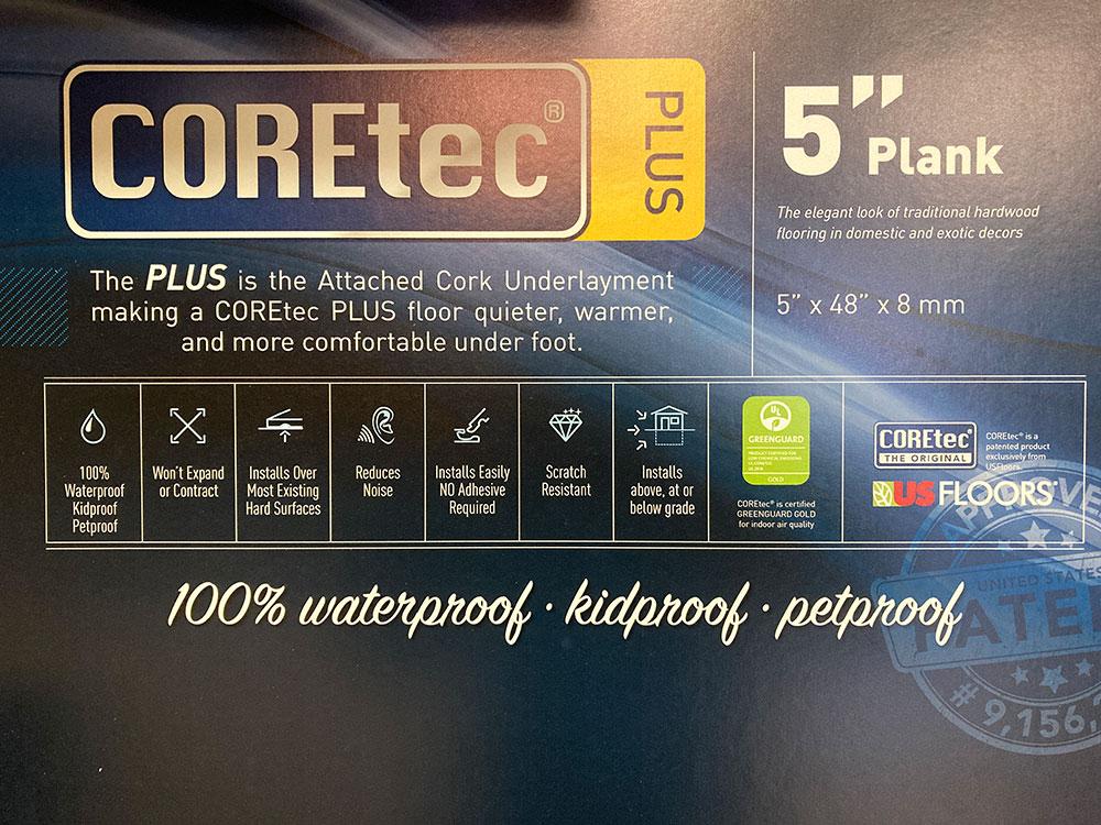 COREtech 5 Flooring