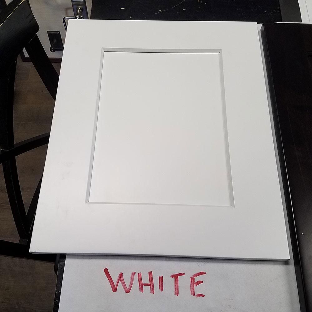 White Cab Door